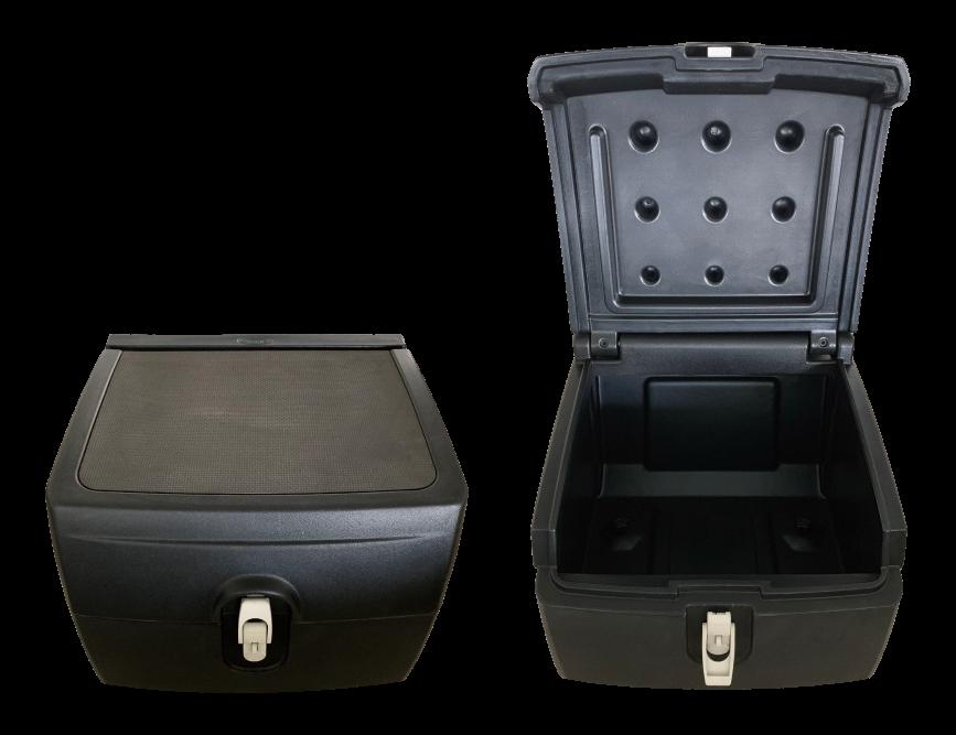Rotomolded storage seat