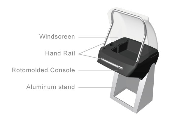 BST Side Console for Passanger