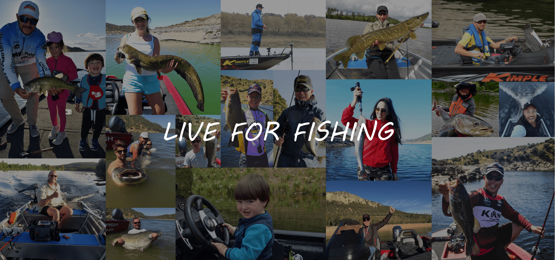 LIVE FOR FISHING